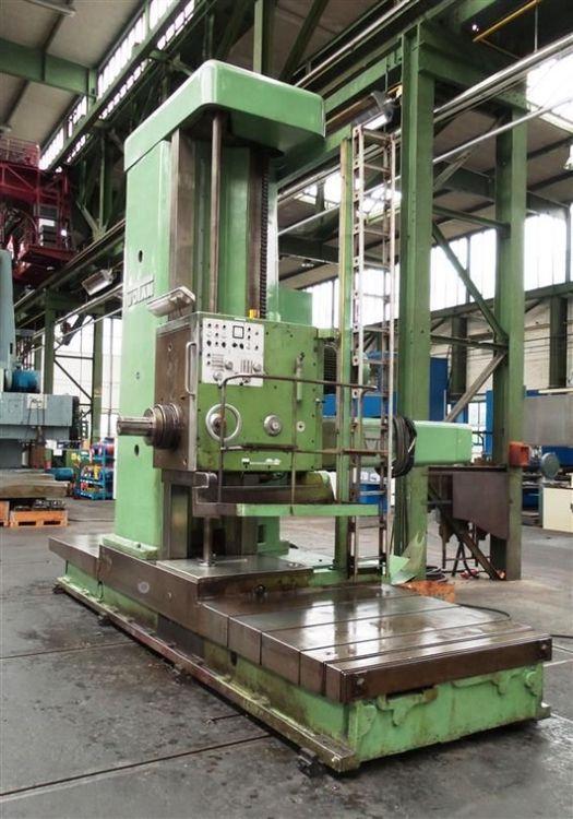 Wotan B 160 160 mm 800 rpm