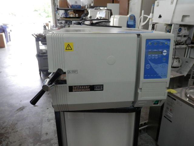 Tuttnauer 2540E, Autoclave