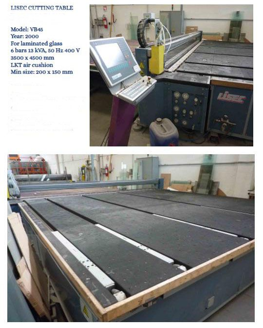 Others LISEC cutting table