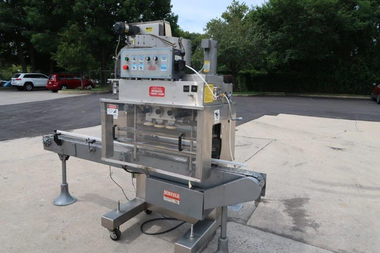 Kaps-All A6 Automatic Stainless Screw Capping Machine