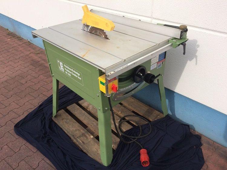 Elektra Beckum PK250 / 4200DNB, Table saw