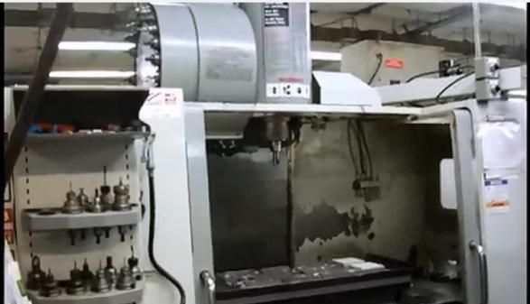 Haas VF-4SS 5 Axis