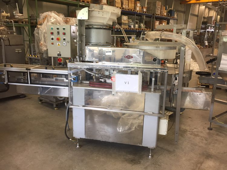 King ISEC 200 Automatic Press-On Capper