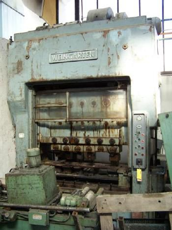 Weingarten Transfer press Max. 80 Ton