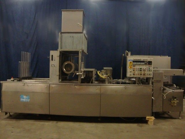 Waldner Dosomat 20-5 Cup filling and sealing machine