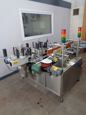 Others ALS 350, Tandem Labelling Machine