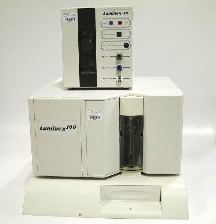 Luminex SD 100 System Fluid Delivery