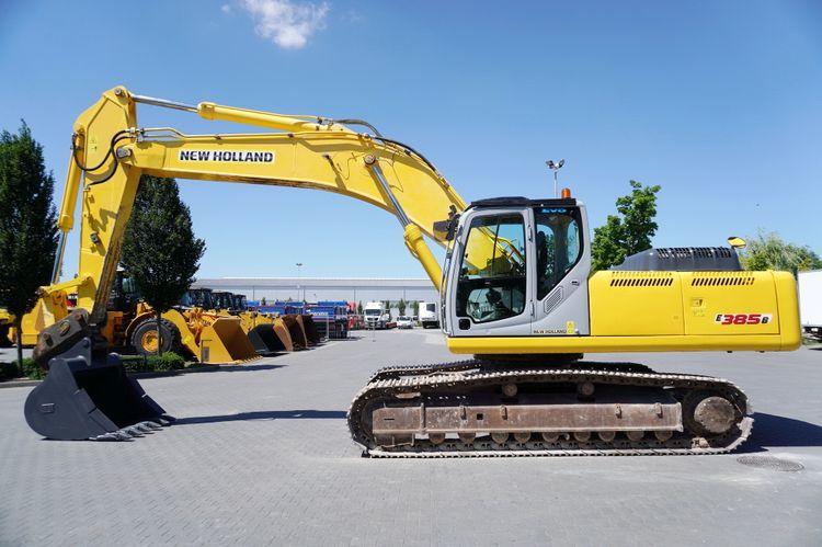 New Holland E385B Crawler Excavators