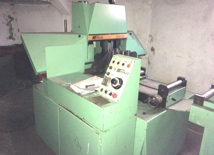 Missler DE 280CC BAND SAW Semi Automatic