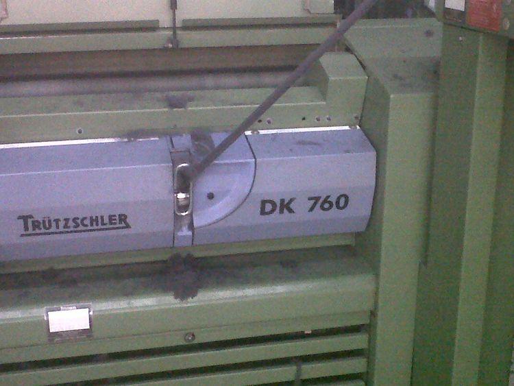 3 Trützschler DK 760 Carding Machines