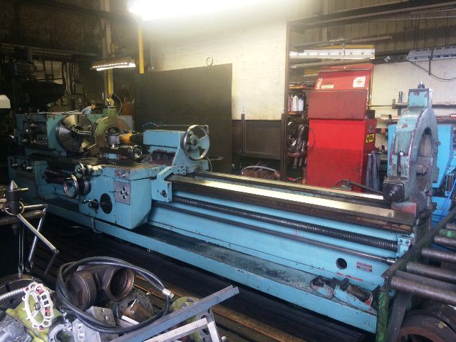 TOS Manual Engine Lathe Variable SUS-63