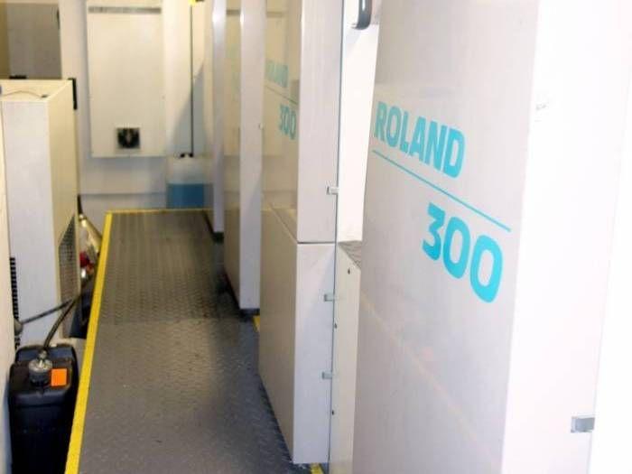 MAN Roland 304 HOB, Sheetfed offset machine 4 74 x 53 cm