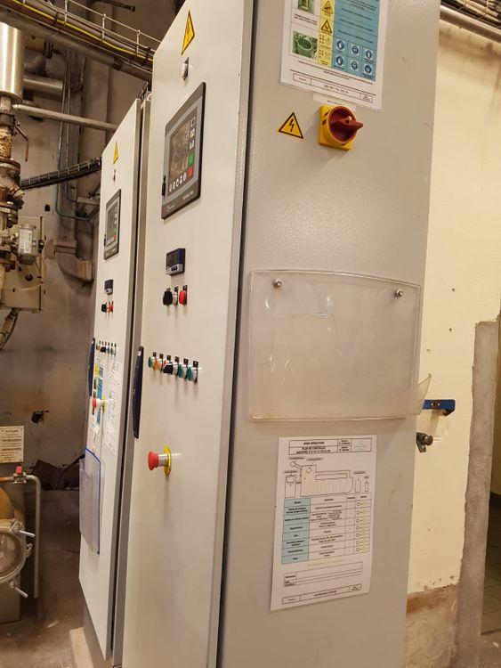 Brazzoli RUL-LS1, Dyeing machine