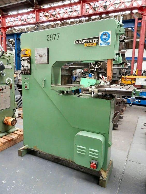 Startrite 30 RWS Vertical Bandsaw Semi Automatic