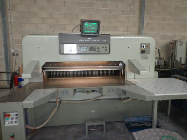 Polar 155 EMC-MONITOR, Guillotine