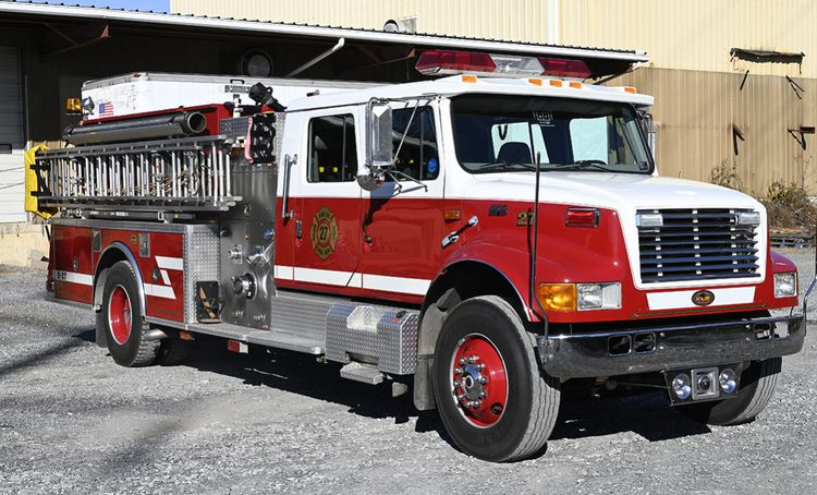 International KME 1250/1000 Rural Pumper