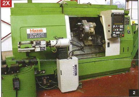 Mazak Control Mazatrol Cam T3 Variable Slant Turn 25 2 Axis