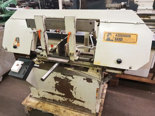 Addison HBS 280 Horizontal Band Saw semi automatic