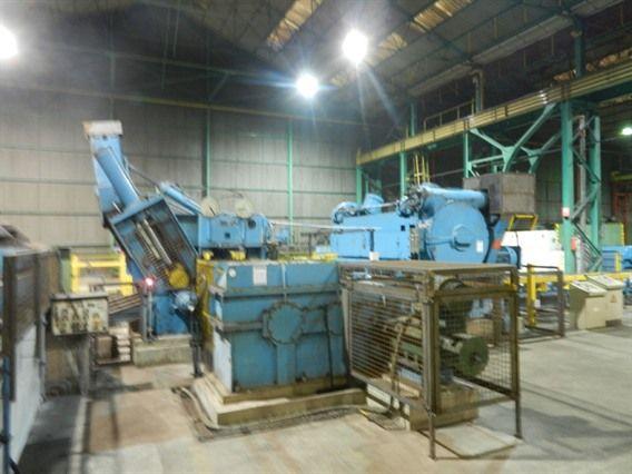 WMW Roller leveler - metal flattening machine