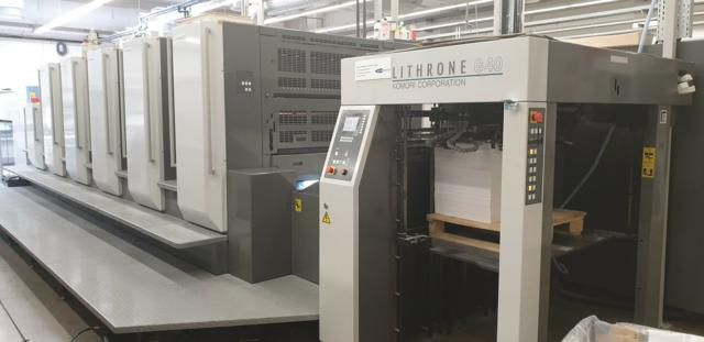Komori Lithrone GL540+CX 720mm x 1030 mm