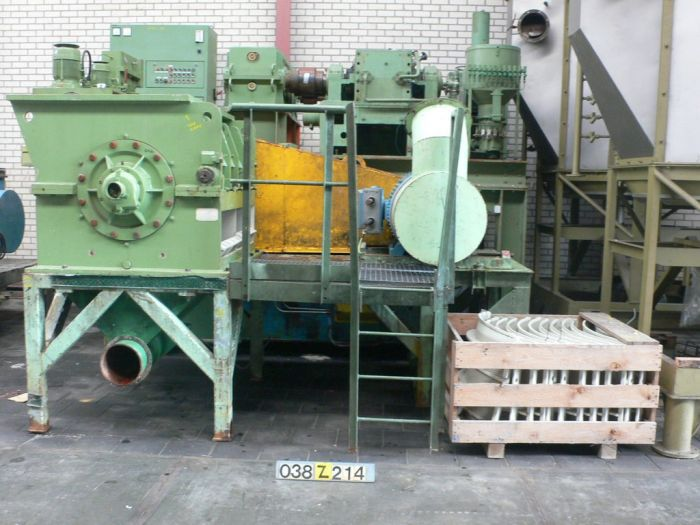 Pallmann PS 8-12 - Granulator
