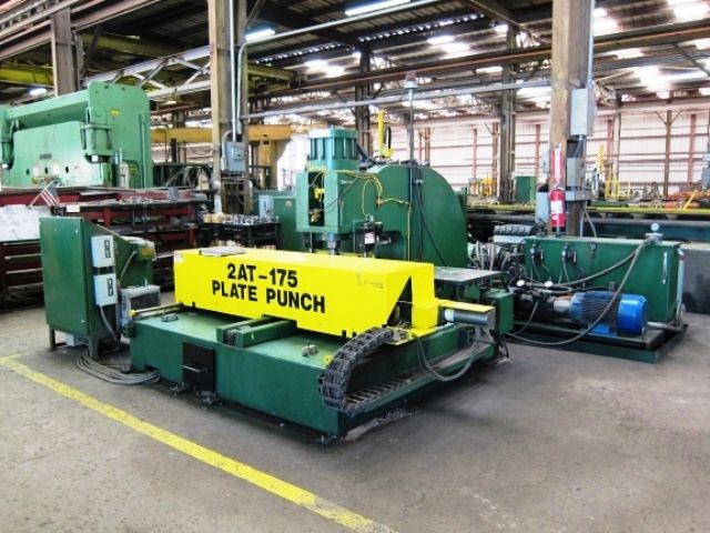 Controlled Automation 2AT-175 175 Ton CNC Plate Punch