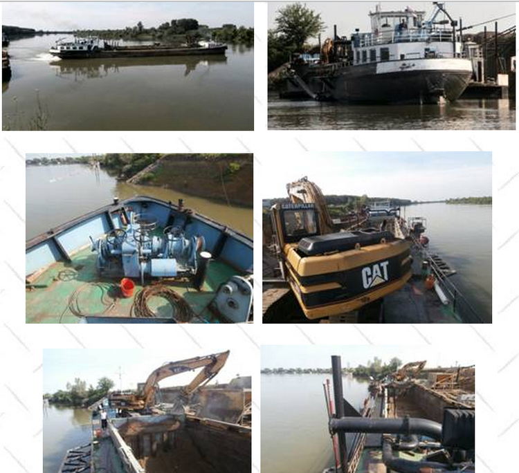 Others Self Propelled Suction Hopper Dredger - Whole ship was painted outside. - 2013  the main engine Volvo 480 hp  was rebuilt - 2012   Mercedes 130 hp and  190 hp were rebuilt - 2013  80% electrical installation were renewed -All lockers for electricity and electronics are new from 2013 -2012  co