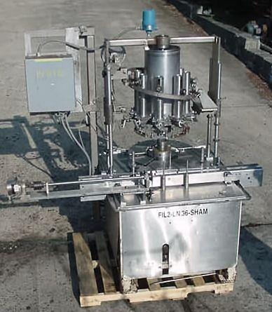 Elgin, MRM RPF-8, Rotary Piston Filler