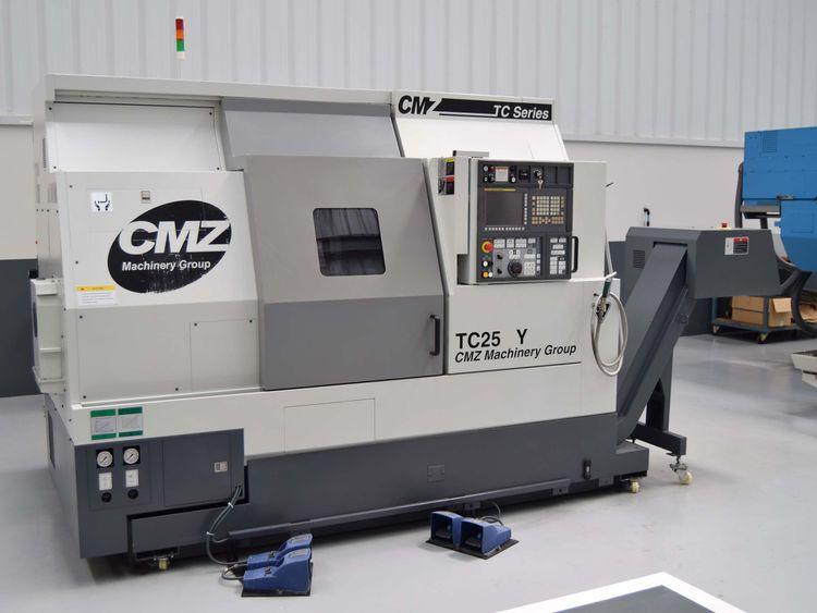 CMZ Fanuc 32i Model B  TC-25 Y-800