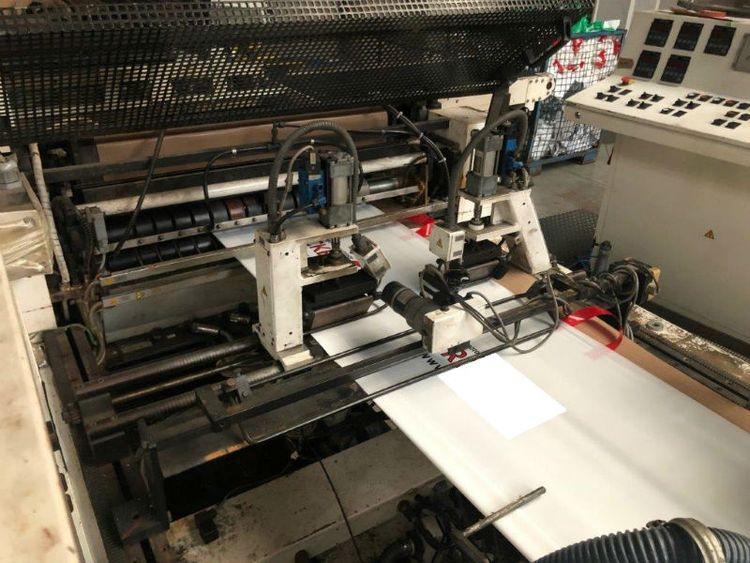 W & H Polyrex Loophandle bagmaking machine