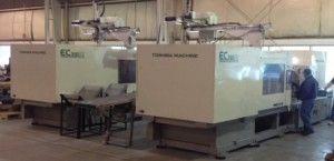 Toshiba EC390NIIV30-17AT, All-Electric Injection Molding Machine 390 Ton