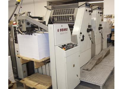 Adast Dominant 725CP, 2 Colors Offset Machine