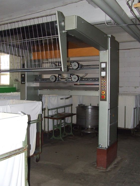 Weiss aTM-VE Spreading and Plaiting Machine