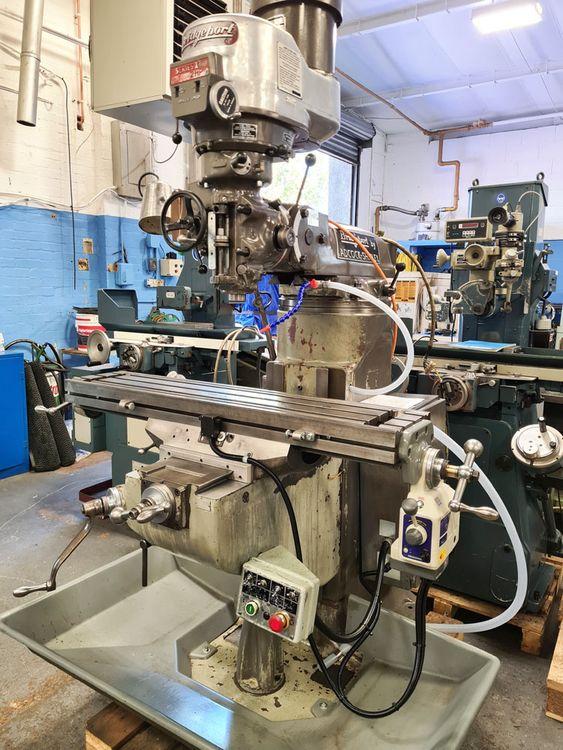 Bridgeport SERIES 1 BR2J2 TURRET MILL 3750 rpm