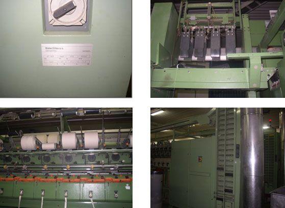6 Rieter RU 14, BT 905 Open End Spinning Machines
