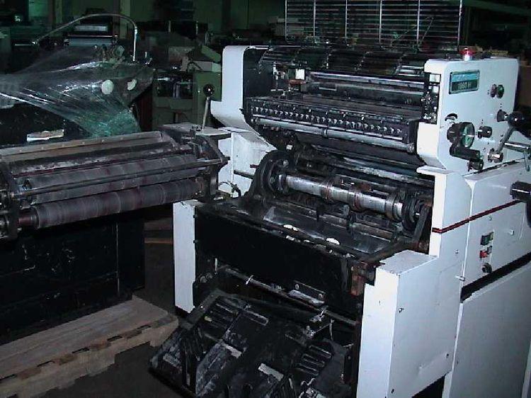 Multilith 1960, 1 color Offset machine