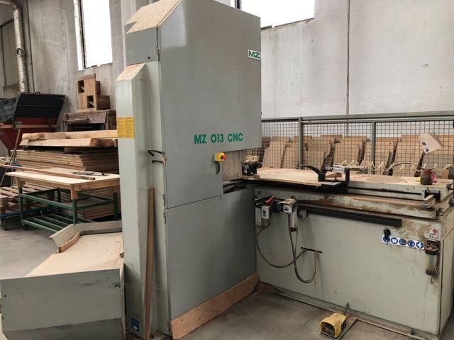 MZ UNIDUE 013, CNC COPYING BAND SAW