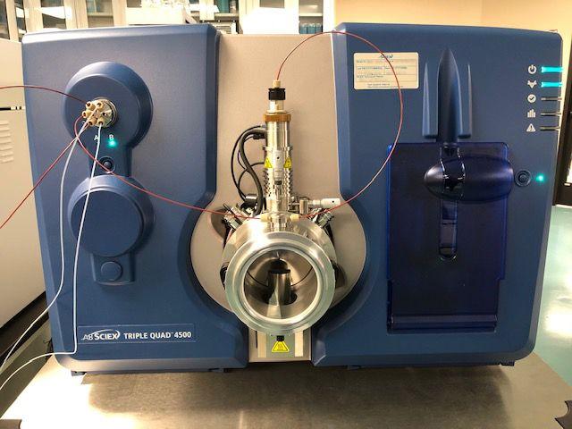 Sciex API-4500 QQQ Mass Spectrometer