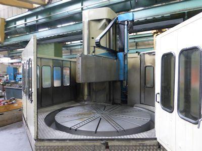 Berthiez BM 180 CNC Vertical Boring Mill
