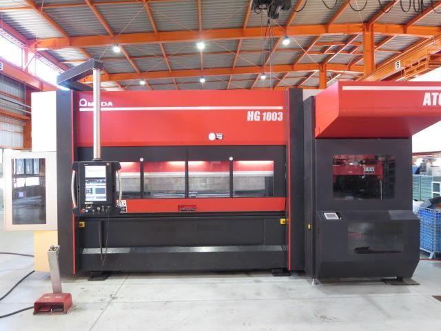 Amada HG-1003ATC 100 ton