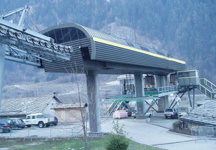Poma Ski lift