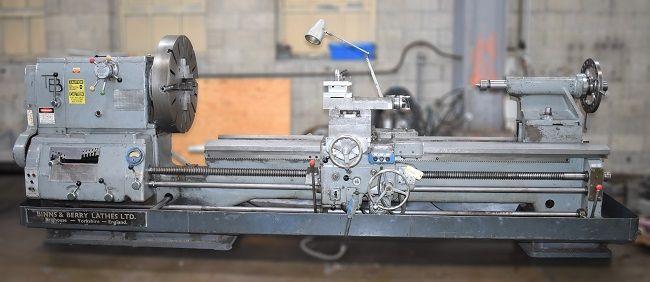 Binns & Berry Engine Lathe 600 rpm MARKIII-TB, S/N 19833