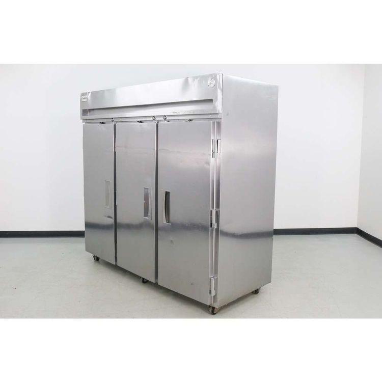 Delfield SFR3-S 3 Door Reach-In Freezer