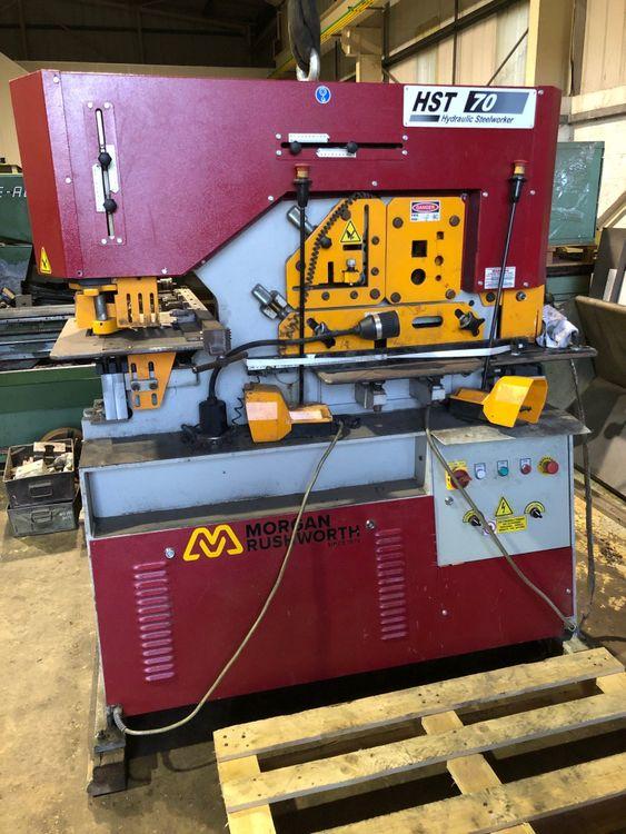 Morgan Rushworth HST 70 Hydraulic Steelworker 70 Ton