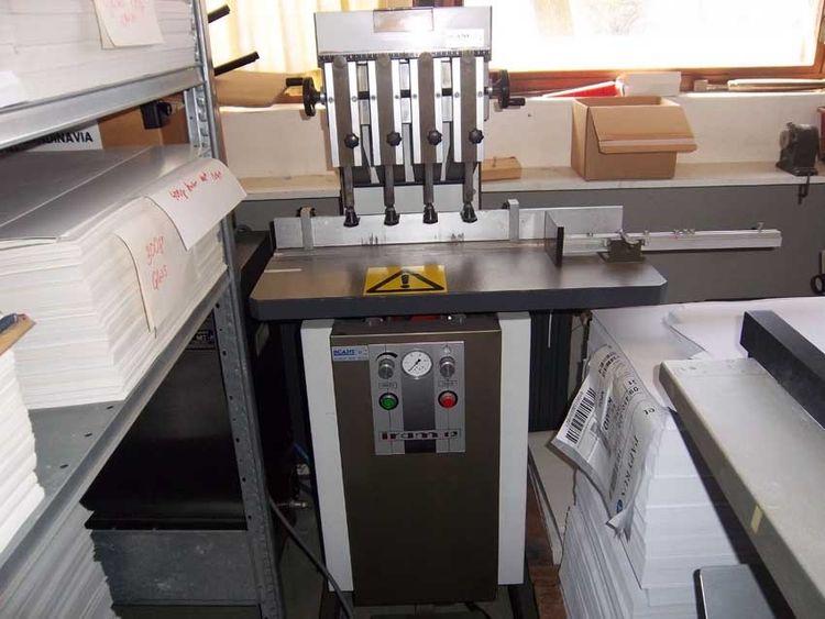 Iram 12 4-spl, Drilling machine