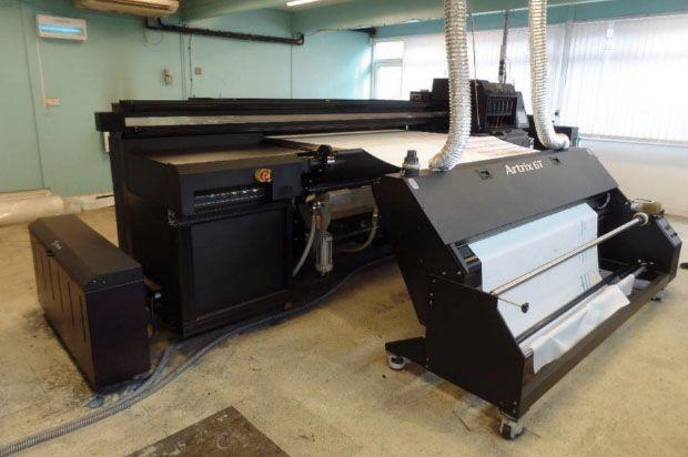 Artrix GT11 Industrial Belt Textile Digital Printer System 8 180 Cm