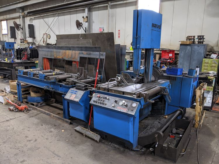 Marvel 81A11PC Vertical Bandsaw Semi Automatic