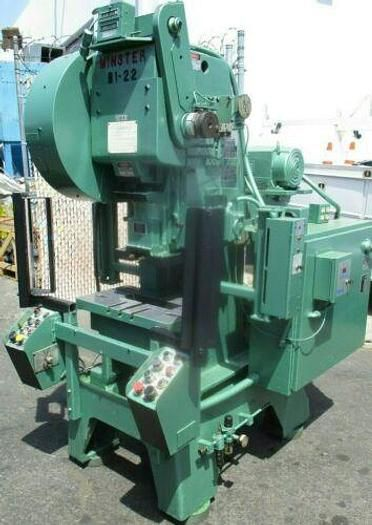 Minster B1-22 0 - 1000 SPM  HIGH SPEED GAP FRAME PUNCH PRESS WITH CURTAINS