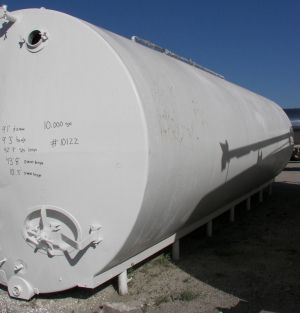Others Horizontal Insulated Tank 10,000 Gallon