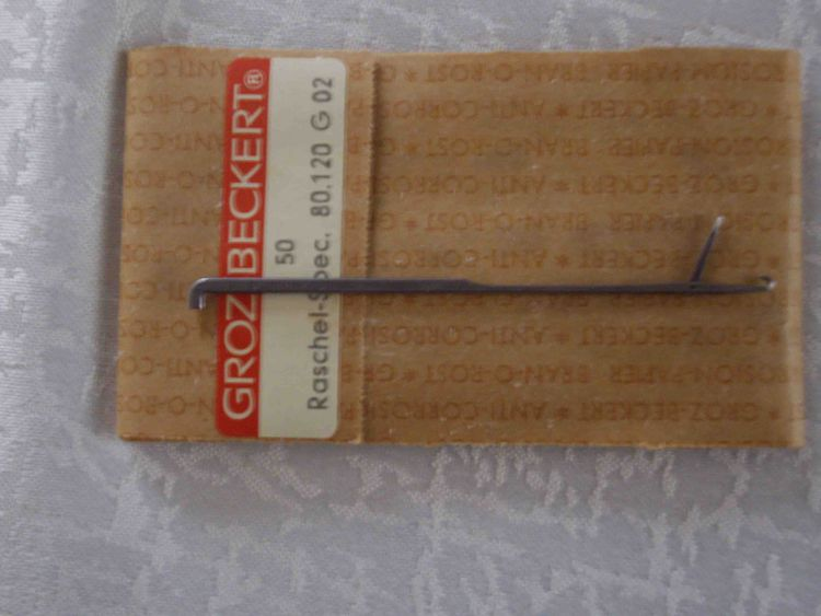 Groz Beckert 20,000 needles RASHEL-SP. 80.120 G02